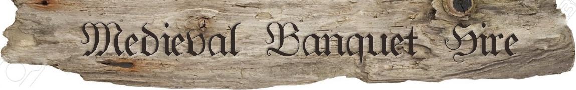 Medieval Banquet Hire