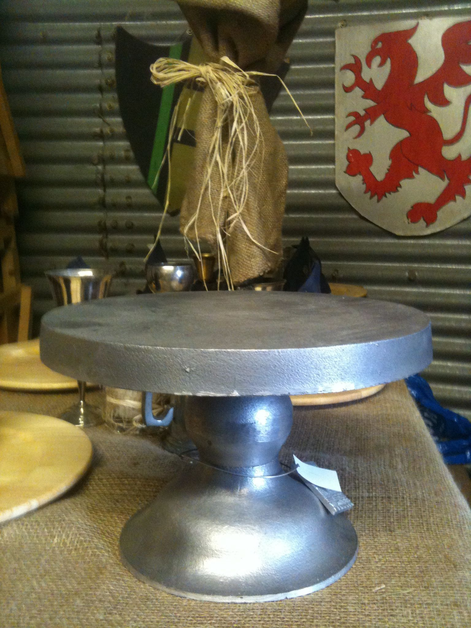 wedding cake stand hire london banquet hire silver metal cake cheese fruit 25624